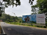 Part 2-Beautiful billboard in Malaysia of a powerful Tibetan hero whose life serves as a great inspiration- https://bit.ly/2UltNE4