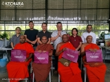 High Sri Lankan monks visit Kechara to bless our land, temple, Buddha and Dorje Shugden images. They were very kind-see pictures- https://bit.ly/2HQie2M