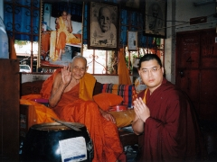 By the time I heard about Luang Phor Thong, he was already very old, in his late 80s. When I heard about him, I immediately wanted to go and pay my respects to him. - http://bit.ly/LuangPhorThong