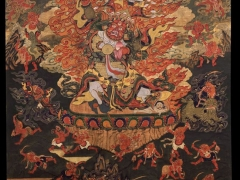 Dharmapalas are not exclusive to Tibetan culture and their practice is widespread throughout the Buddhist world - https://www.tsemrinpoche.com/?p=193645