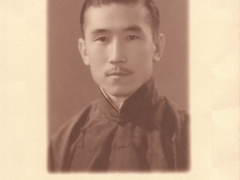 My grandfather Migyur Wang, ruler of Xianjiang and descendent from Genghis Khan