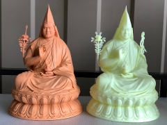 3D printed model of Rinpoche's statue