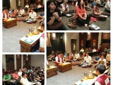 Tonight's weekly Setrap puja (English) was led by KH Ng and assisted by Loo at Kechara House gompa. Pictures by Victor Choi. Lucy Yap