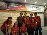 Group photo of regular volunteers at Kechara Soup Kitchen jalan imbi KL. Ray Thing, KSDS.