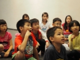 With interesting topic kids can focus much longer. KSDS / Kien