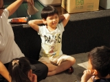 KSDS 5-6 years old student Wen Xin participating in class. Stella Cheang, KSDS