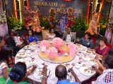 A wedding of compassion as no animals are killed. May the couple always be blessed with Happiness. ~ kecharaoasis.com ~ Guat Hee