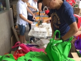 Kechara Sunday Dharma School parents & students helped out at Kechara Soup Kitchen. Stella Cheang, KSDS