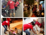26/9/16-Food distribution around Georgetown, Penang. P.Patsy