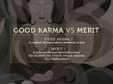 Good Karma Vs Merits. Jason KKSG