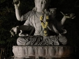 "Manjushri, Buddha of Wisdom ""Om Ah Ra Bha Za Na Dhi"" on Manjushri Hill. Photo credit Wei Theng, shared by Pastor Antoinette"