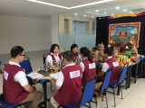 Kechara Puja Team led by Pastor Yek Yee performed Dorje Shugden puja at JB. Lucy Yap