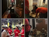 Some photos taken during food distribution in Georgetown, Penang on Monday night. P.Patsy