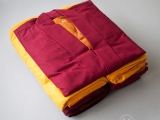ROBES OFFERING.Wearing the robes reflects the commitment of an ordained person to bring happiness and comfort, and to relieve the sufferings of sentient beings. http://www.vajrasecrets.com/sangha-robes-offering-fund-wisdom-set Jason KKSG