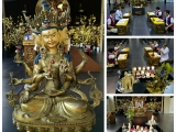 Namgyal Tsechog Puja performed by Kechara Puja Team at 5.50pm in Wisdom Hall, Kechara Forest retreat. Lucy Yap