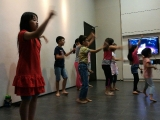 KSDS students practising for the graduation ceremony on Nov 20. Stella Cheang, KSDS