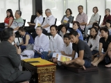 A Dharma talk by Pastor David Lai before the commencement of Lama Chopa