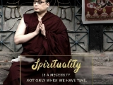 Spirituality is a necessity, not only when we have time. - shared by Pastor Antoinette