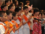Enjoyed listen to the KSDS students sang Migtsema mantra. Alice Tay, KSDS