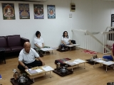 Kechara Ipoh Study Group has completed a short Mother Tara retreat in Kechara Ipoh chapel today. So Kin Hoe (KISG)