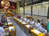 We were blessed to have H.E. the 25th Tsem Rinpoche attending the Dorje Shugden Puja last Friday. Holy and melodious chanting and ritual instruments filled Wisdom Hall.