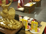 Dorje Shugden puja performed at Kechara House for sponsors. Lucy Yap