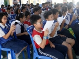 It was truly amazing how well the students were able to recite the Gangloma and Manjushri mantra although this was their first time. ( Enrichment Programme With A Differenceof at SJKC Lurch Bilut, Bentong)