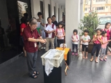So glad that KSDS students has the opportunity to join he animal liberation in front of Kechara House. Great way to cultivate compassion. Lin Mun KSDS