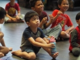 Chern Chern, 4 years old, from Kechara Sunday Dharma School. Stella Cheang