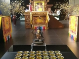Manjushri Puja in Wisdom Hall, Kechara Forest Retreat by the Puja Team