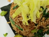 Petai Fried Rice #Malaysian #favorite #vegetarian ~ kecharaoasis.com ~ Guat Hee