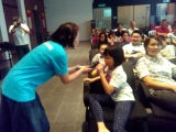 KSDS is glad to have Ms Peggy to share her knowledge about bully & gave a talk to parents & students. Lin Mun KSDS