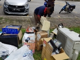 We also collect used electrical items. KEP-SERENA