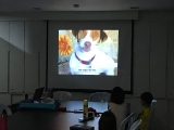 KSDS students learned to be kind to others including the animals. Alice Tay, KSDS
