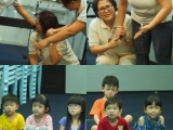 "Teacher Irene , Teacher Alice and Teacher Asyley acting and explain to the children What and how to deal with ""Anxiety"". By Asyley Chia KSDS"