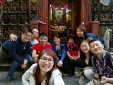 Kechara Sunday Dharma School volunteer teacher Pilgrimage trip 2018 at Nepal Tara Chapel By Asyley Chia KSDS