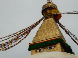Nepal Pilgrimage 2018~Departed for the Boudhanath Stupa, one of the icons of Kathmandu. It is said that this stupa holds the relics of Buddha Shakyamuni~By KSDS Jayce Goh