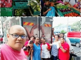 466kg of #surplusfood were redistributed to 76 needy families in PPR Beringin on Thursday with the help of these dedicated #volunteers. Vivian @ Kechara Soup Kitchen