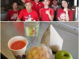 Thank you for your kind food sponsorship Jade Choong and happy birthday to you! Thank you for doing this on your birthday! Bring a lot of meaning and joy to everyone on the streets. The clients love it especially when we are serving fruit juice! Vivian @ Kechara Soup Kitchen
