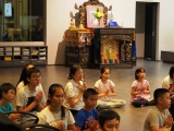 Dedication will be done after the dharma lessons and activities were ended. Alice Tay, KSDS