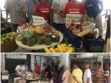 The collection from surplus food helps prevent food wastage; we redistribute to the needy families. Thank you to Tesco for this surplus food and also grateful to the volunteers for helping!!! Vivian @ Kechara Soup Kitchen