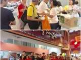 Anjung Singgah team together with Street Shepherd Outreach team last week. Looking forward to tonight's distribution! Vivian @ Kechara Soup Kitchen