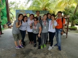 KSDS teacher and volunteers on Farm in the City outing.we all have a great time and memorable trip.yeahhh.By Asyley Chia ksds