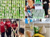 Big thanks to Billy Hew for the generosity. Winter melon tea drinks arrive just in time for our street friends as the weather has been muggy and unpredictable lately! We also share the joy with our charity partners. - Vivian @ Kechara Soup Kitchen
