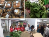 More than 200kg of surplus were saved and distributed to the needy families in Jalan Sungai. If not for the food rescue heroes, all these would have ended up in landfills. Thank you to Tesco and all volunteers for making this possible !!! - Vivian @ Kechara Soup Kitchen