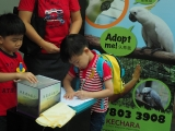 You Qian is a smart and loving kindess boy made donation for animal liberation. Alice Tay, KSDS