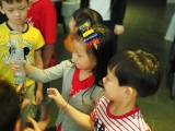 The children have to take turn to play the games. Alice Tay, KSDS