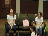 Teacher Callista and Teacher Julie had a nice discussion about the arts. Alice Tay, KSDS