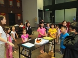 Children were so excited with the art & craft exercise. Lin Mun KSDS