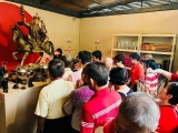 Many come to Kechara Forest Retreat in Bentong, Malaysia to make offerings and prayers to the increase form of Dorje Shugden who appears like a prince and rides on a golden horse. Many report having their wishes fulfilled and return many times. Am happy to see this. ~Tsem Rinpoche You can learn more about this form of Dorje Shugden here: https://bit.ly/2wxQyes